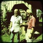 Norbert Weber und Artur Mann beim Prisma Kunstrendezvous