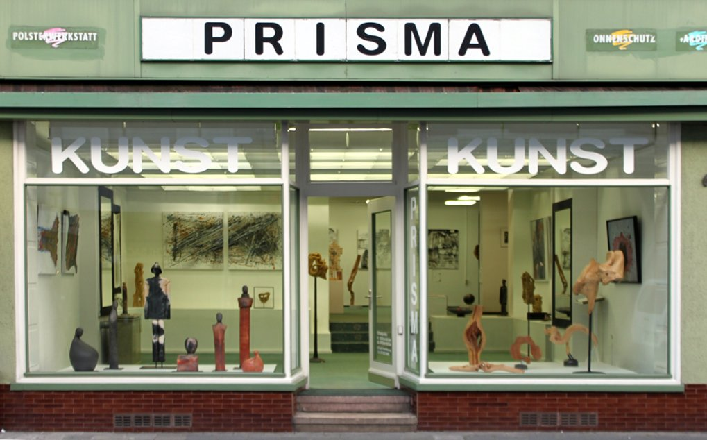 Schaufenster der Künstlergruppe Prisma