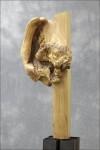 Holzskulptur von Peter Hudlet