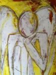 Bärberl Grub-Hapke Engel Malerei