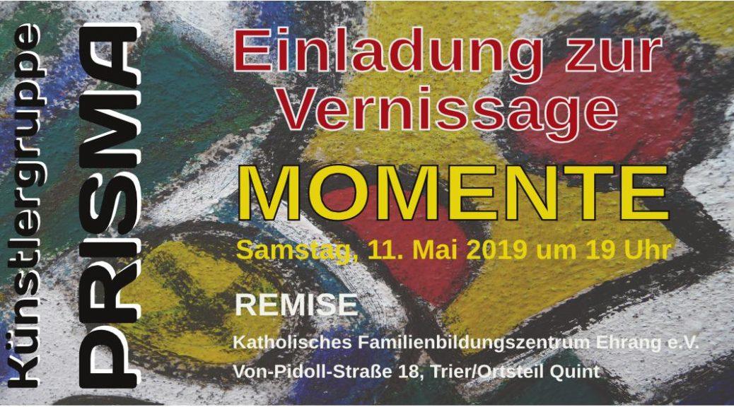 Ausstellungseröffnung in Trier